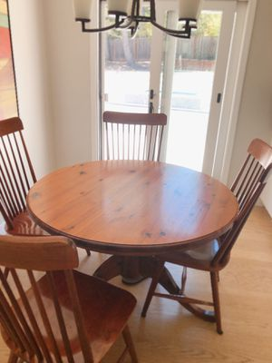 Wooden Kitchen Table and Chairs for Sale in Palo Alto, CA