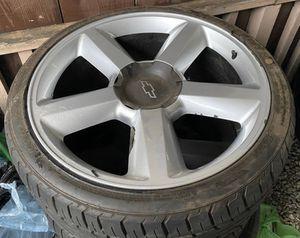 "22"" LTZ Replica wheels for Sale in San Jose, CA"