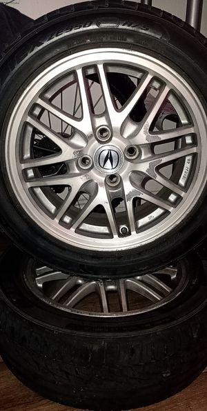Acura Rims 4 Lug 200 obo for Sale in Gilroy, CA