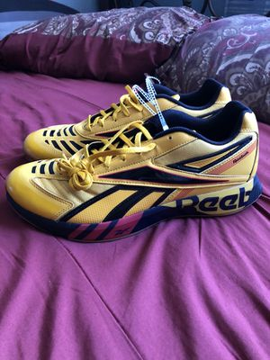 Men's Yellow Reebok Original Shoes for Sale in San Diego, CA