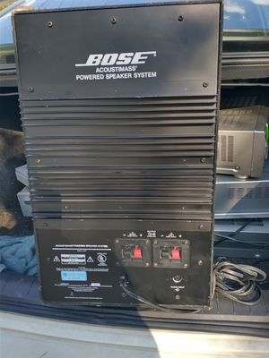 Bose powered speaker system for Sale in San Antonio, TX