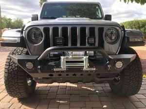 Jeep Wrangler JL bumper & winch for Sale in Scottsdale, AZ