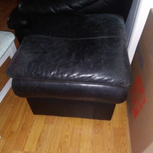 Real Leather Hassock / Foot Stool for Sale in Fort Lauderdale, FL