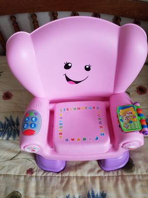 Fisher Price Talking Chair (12-36M) for Sale in Seymour, WI