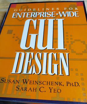 Guidelines for Enterprise-Wide GUI Design for Sale in Fenton, MO