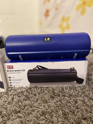 L2 E23 BLUETOOTH PORTABLE SPEAKERS for Sale in Gilbert, AZ
