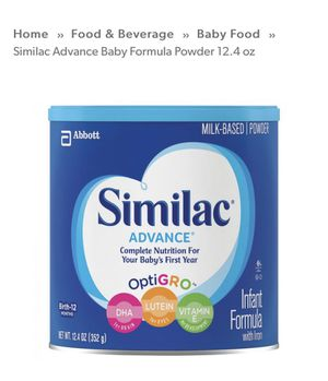 Baby formula for Sale in Belpre, OH
