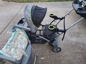 Sit and stand Stroller/ High Chair for Sale in Riverdale, GA