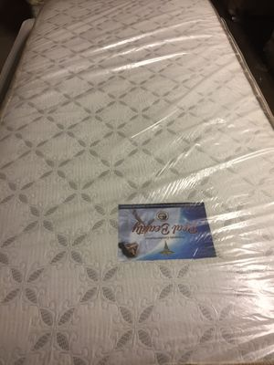 Twin size double face mattress( Fairmount creek firm brand) new ,without box spring, free delivery for Sale in Philadelphia, PA