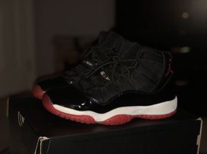 "Air Jordan ""Bred"" 11 GS size 6 for Sale in Silver Spring, MD"