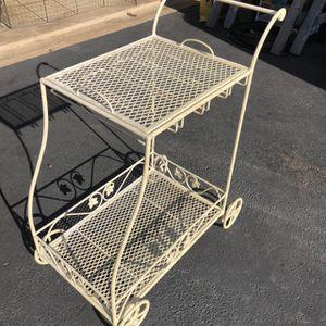 metal plant/ outdoor bar cart for Sale in Manassas, VA