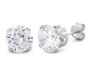 7 mm Diamond Stud Earrings for Sale in Lake Alfred, FL