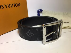 Louis Vuitton Monogram Eclipse Leather Belt Authentic for Sale in Queens, NY