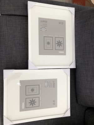 2 x Ikea Ribba frame in white for Sale in Miami, FL