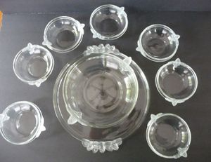 Vintage Mikasa Crystal Bowls and Plater for Sale in Beaverton, OR