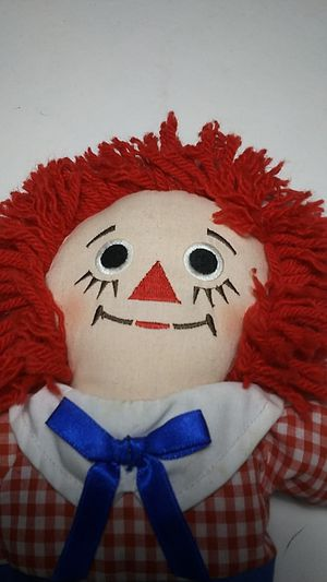 Raggedy Andy doll NEW 12inch with tags!! for Sale in Waddell, AZ