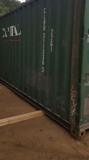 20' SD Used WWT Portable Shipping Boxes for Sale! for Sale in Warren Air Force Base, WY