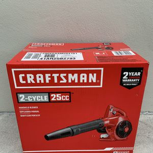 Craftsman Handheld Leaf Blower 2-Cycle 25cc Gas for Sale in Fort Lauderdale, FL