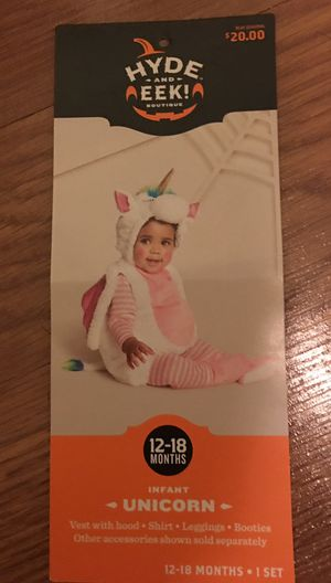 Infant unicorn costume for Sale in Tampa, FL