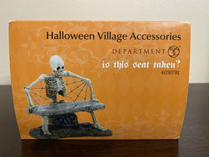 Is This Seat Taken?-Dept 56 Halloween for Sale in Midland, TX