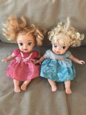 BABY DOLLS ELSA AND ANNA - FROZEN for Sale in Oviedo, FL