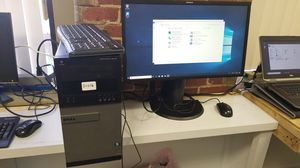 DELL OPTIPLEX 9010 WITH SAMSUNG CURVE MONITOR for Sale in Lowell, MA