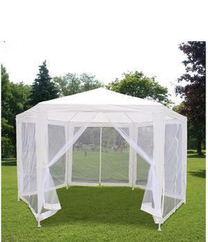 11x13 garden canopy tent w mesh net for insects for Sale in Tucker, GA