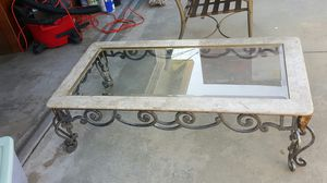 Beveled coffee table for Sale in US