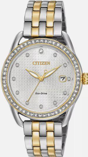 New citizen women's diamond watch new in box for Sale in San Gabriel, CA