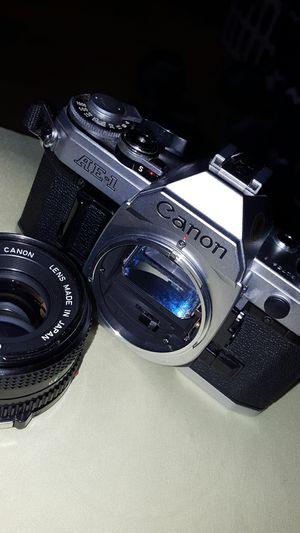 camera AE-1, Canon vintage model for Sale in Dallas, TX