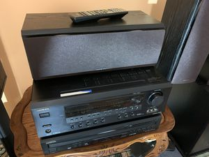 Home theater speaker package onkyo wery good condition for Sale in Plainfield, IL