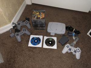 PlayStation 1 Console Bundle for Sale in Mesa, AZ