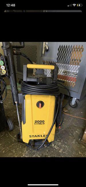 Stanley pressure washer! 2,000PSI for Sale in Colton, CA