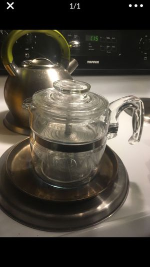 Vintage Pyrex 4 cup glass percolator for Sale in St. Peters, MO