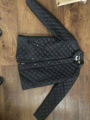 Black Burberry Jacket for Sale in Blacklick, OH