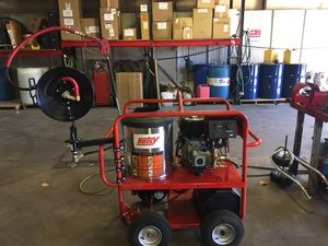 Used Hotsy hot water pressure washer for Sale in Denver, CO
