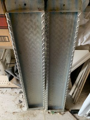 Nice set of aluminum ramps for sell for Sale in Cheyenne, WY