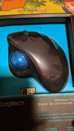 Logitech Wireless Trackball Mouse for Sale in Atlanta, GA