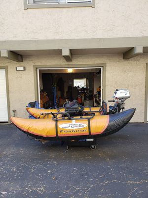 Water Skeeter inflatable pontoon for Sale in Campbell, CA