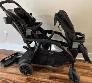 Graco Baby Modes Duo One-Hand Fold Twin Tandem Double Stroller Balancing Act for Sale in Marietta, GA