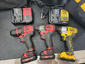 Mac tools 12v impact drill bundle set for Sale in Ewing Township, NJ