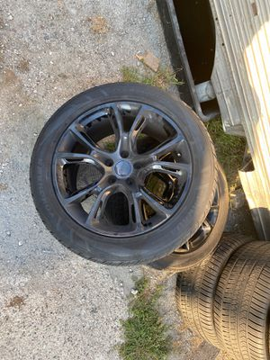 """20"""" Jeep srt oem wheels and tires for Sale in Garden Grove, CA"""