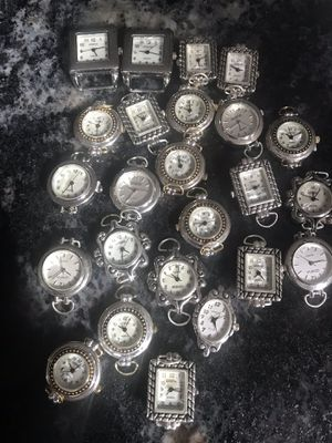 Lot of 24 Geneva watches for beading for Sale in Chesapeake, VA
