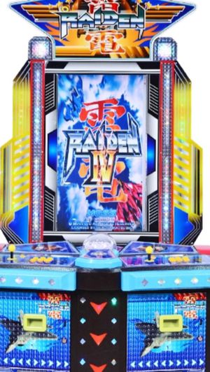 Brand new raiden 4 (lv) - arcade coin operated for Sale in Fresno, CA