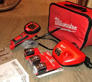 Milwaukee M12 Inspection Camera With tool bag,charger & 1 battery $150 for Sale in Long Beach, CA