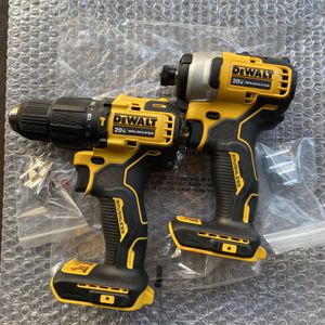 Dewalt ATOMIC 20-Volt MAX Cordless Brushless Compact Hammer Drill/Impact Combo Kit (tools (-Tool) for Sale in El Cajon, CA