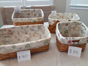 Longaberger baskets for Sale in Venice, FL