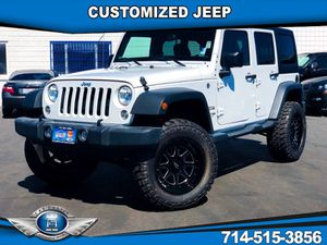 2018 Jeep Wrangler JK Unlimited for Sale in Fullerton, CA