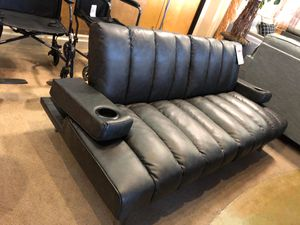 Black leather futon on sale for Sale in Phoenix, AZ