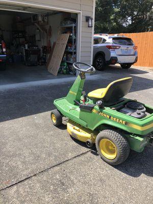 John Deere riding lawn mower for Sale in University Place, WA